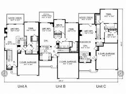 Multi Family House Plans Duplex 38 Best Multi Family Plans Images On Pinterest Family House