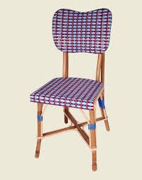 mobilier de bistrot maison drucker créateur de mobilier en rotin chaises de bistrot