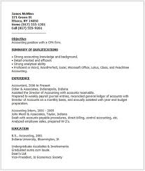 Sample Resume Of Cpa by Examples Of Good Resumes That Get Jobs