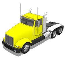 kenworth tractor trailer kenworth truck 3d model formfonts 3d models textures