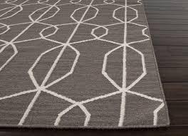 stylish geometric runner rug nuloom geometric moroccan beads grey