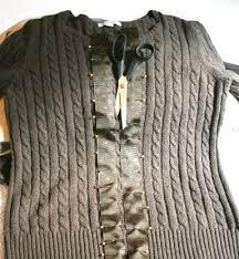 25 unique sweater refashion ideas on clothes