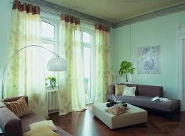 White Curtains With Yellow Flowers Beautiful Curtains Design For Modern Living Room Ideas