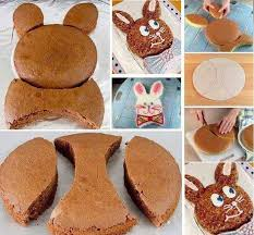easter bunny cake mold make a bunny shaped cake tutorial diy cozy home