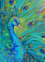 25 beautiful peacock painting ideas on pinterest peacock art