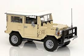 land rover lego lego and land cruiser made a toy that will bring out your inner child