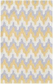 yellow and white area rug rugs decoration