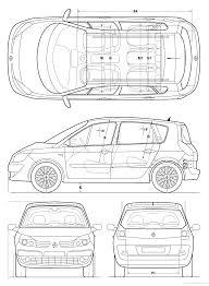 renault scenic 2005 the blueprints com blueprints u003e cars u003e renault u003e renault scenic