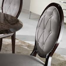 elegant oval button upholstered dining chair juliettes interiors