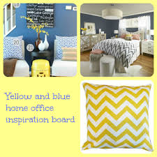 yellow and blue inspiration board momhomeguide com