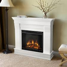 real flame chateau 40 inch electric fireplace with mantel white