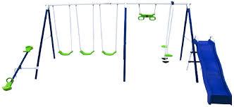 Flexible Flyer Backyard Swingin Fun Metal Swing Set Flexible Flyer Swing Sets Recalled By Troxel Child Injury