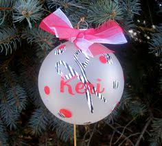 personalized hair stylist ornament ornament
