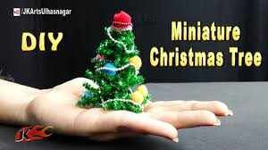 Mini Christmas Tree Decorations Diy by How To Make Miniature Christmas Tree Diy Christmas Decorations