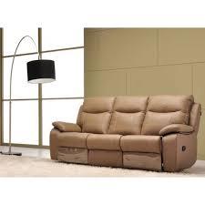 canapé relax electrique 2 places moulin des affaires le canapé 3 places en cuir 2 relax