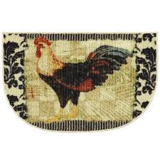 156 best rooster kitchen rugs images on pinterest roosters