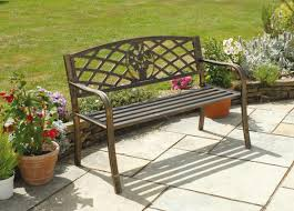 Wrought Iron Patio Furniture For Sale by Bench Wrought Iron Outdoor Bench Altitudinarian Outdoor Benches