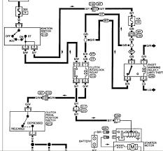 nissan 200sx starter wiring diagram nissan wiring diagram and