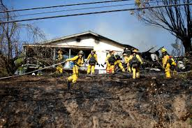 two homes san jose arcing power lines reported in grass that damages