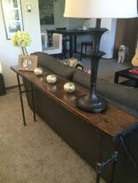 thin sofa table brass jones diy industrial sofa back table addition ideas