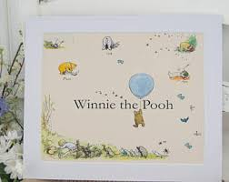 winnie the pooh prints classic illustration set 2 e h shepard