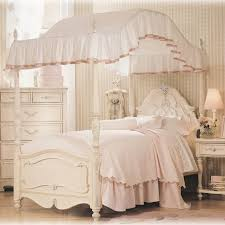 White Full Size Bedroom Sets For Little Girls Bedroom Furniture Sets Kids Canopy Bed Twin Size Beds For Girls