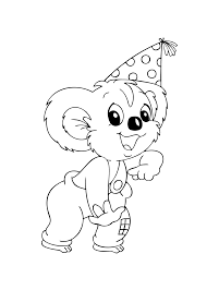 blinky bill cartoons coloring pages for kids printable free