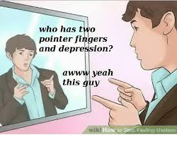 Awww Yeah Meme - who has two pointer fingers and depression awww yeah this guy