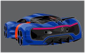 renault alpine a110 50 2012 renault alpine a110 50 concept sketch design дизайн рисунок