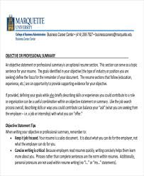 Example Objective Statement For Resume by Career Objective Statement Write Resume Objective Resume
