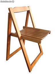 sedie rovere sedia pieghevole in legno massello di hevea finitura rovere 46x44x73