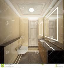 render of the luxury toilet stock illustration image 95201073