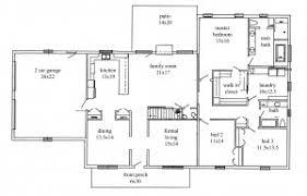 open floor plan ranch floor plan house plans open floor plan home office and 3 bedroom