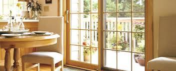 Wood Patio Doors Sliding Wood Doors Matano Co