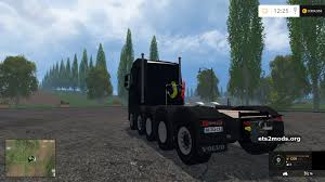 volvo hd trucks 5 axis volvo heavy duty truck mod fs15 mods