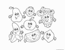 homey idea fruits coloring worksheets kindergarten