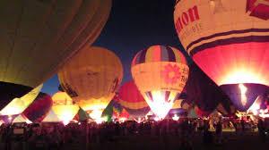 Galballoonfiesta2012 Twilight Twinkle Glow At Balloon Fiesta Youtube