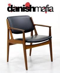 mid century danish modern arne vodder arm desk chair danish mafia