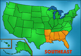 map usa southeast usa regions clip by phillip martin southeast states