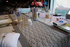 10 idées de chemin de table mariage pour une table orginale - Chemin De Table Mariage