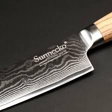 kitchen knives japanese sunnecko 8
