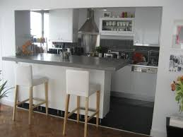 cuisine ouverte avec bar modele de cuisine americaine 1 exemple ouverte avec bar newsindo co
