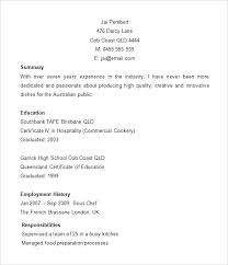 Resume Templates For Word 2007 by Cv Templates For Microsoft Word Chef Resume Templates Word Cv