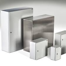 Metal Wall Cabinet Electric Cabinet Wall Mount Single Door Stainless Steel