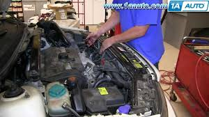 how to install replace alternator 1999 04 volvo v70 s60 s70 youtube