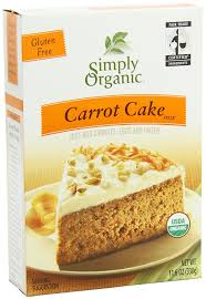 amazon com simply organic carrot cake mix 11 6 ounce boxes