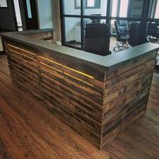 Reception Desk Wood Reception Desks For Offices Custom Reception Counters