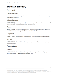 how to write a short business plan sample
