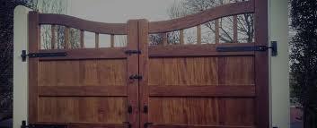 wooden gates garden u0026 driveway gates in manchester cheshire