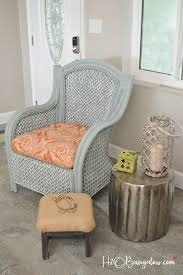 How To Paint A Table by How To Paint Wicker Furniture Quickly And Easily H20bungalow